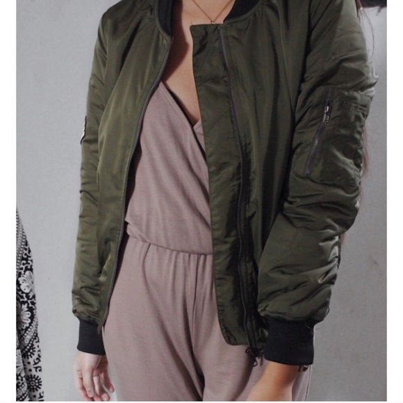 Jackets & Blazers - ONLY SMALLS & MEDIUMS - Olive Me Bomber